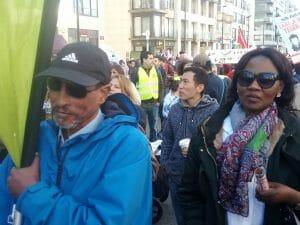 betoging tegen racisme